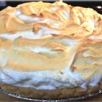 When life gives you blueberries, make LEMON MERINGUE PIE