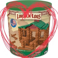 The Lincoln Log Heart